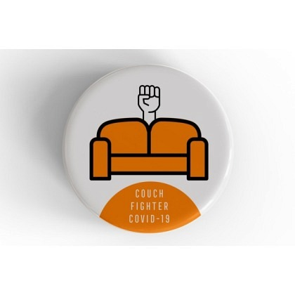 Button Couchfighter You are not alone!