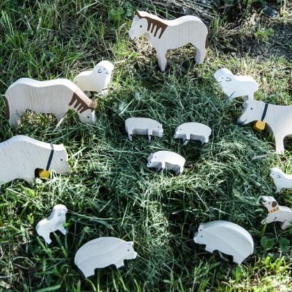 Tiersortiment Bauernhof gross