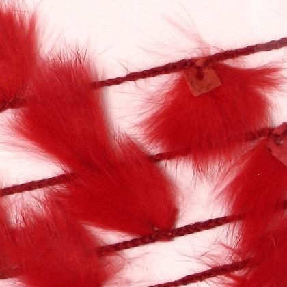 Fellschnur rot