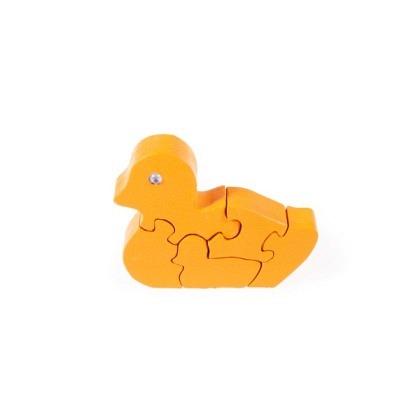 Puzzle 3-D Enten, orange
