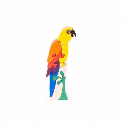 Puzzle 3-D Papagei