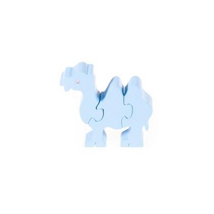Puzzle 3-D Kamel, hellblau