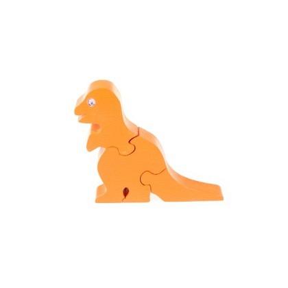 Puzzle 3-D Dinosaurier, orange