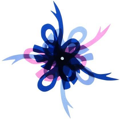 Fächer-Blume