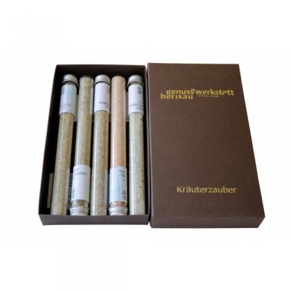 Kräuterzauber-Set 5 diverse Kräutersal..