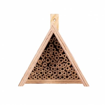 Bienenhotel Dreieck Nr. 2